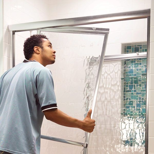 A dragging shower or bathtub door can permanently damage both the door and the track if ignored for too long. Learn the steps needed to fix it and get it running smoothly again.