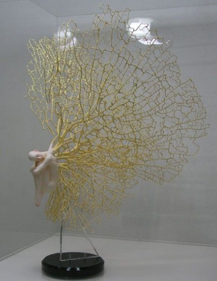 very interesting and airy piece of sculpture