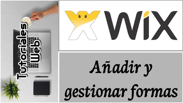 Wix 2017 - Añadir y gestionar formas (español) https://youtu.be/wkdpedD-ALo
