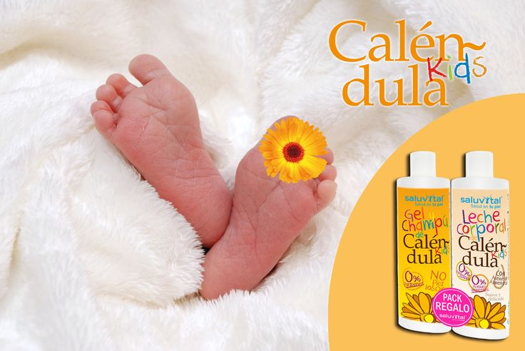 🌼 Caléndula Kids 🌼 Para todos los peques 👶👧 con problemas de la piel; dermatitis atópica, sequedad, irritación, rojeces...