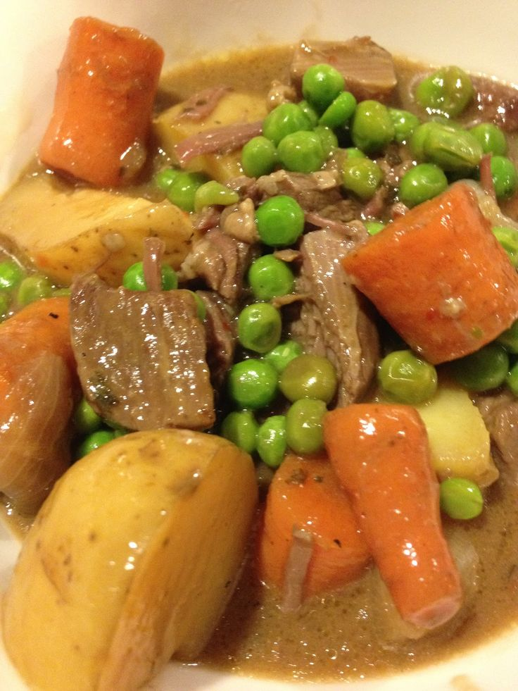 Slow Cooker All Day Beef Stew