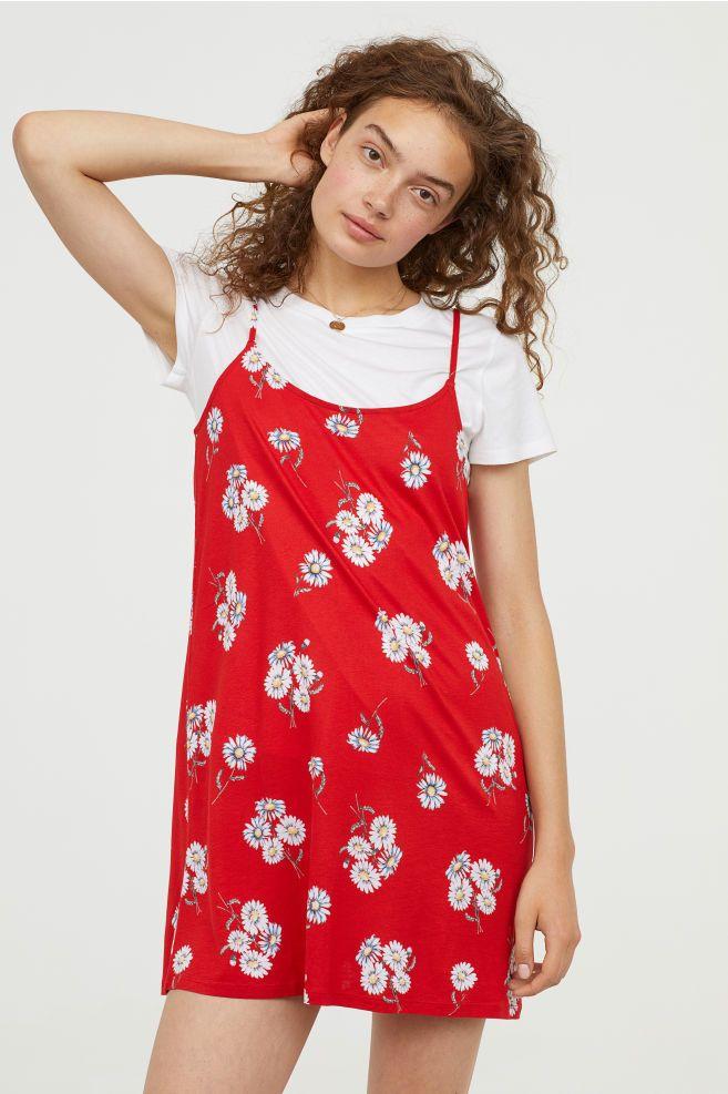 8af724ba153 Patterned jersey dress | capsule wardrobe | Dresses, Short dresses ...