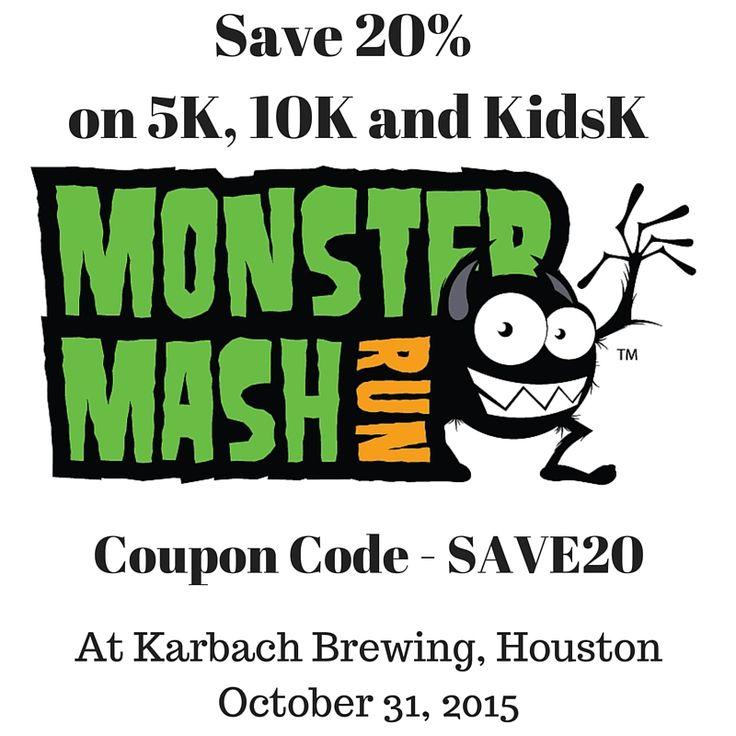 23 best houston running events images on pinterest running save 20 off monster mash run in houston fandeluxe Gallery