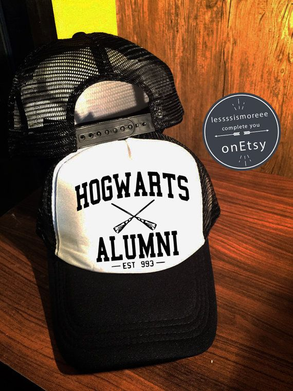 Hogwarts Alumni Hats Hogwarts Caps Harry Potter by Lessssismoreee