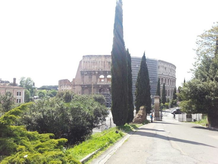 Colosseum view, from Colle Oppio