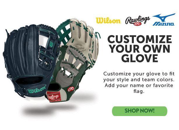 create your own baseball glove