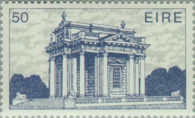 Stamp: Casino in Marino (18th Cty.) Dublin (Ireland) (Irish Architecture…