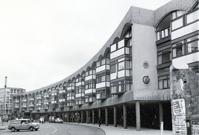 Crescent House, Golden Lane Estate, Goswell Road | 1965