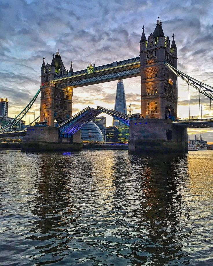 over the line and far away : tower bridge