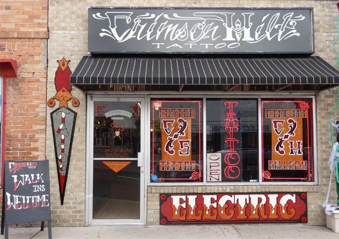 Contact denver tattoo shop crimson hilt tattoo shops for Best tattoo shops in denver co