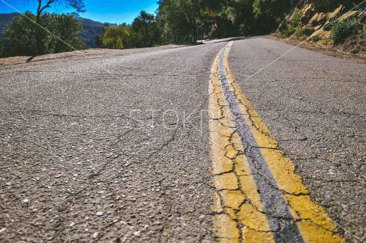 Free photos transport Yellow Lines Down Center Of Road