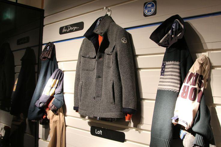 #North #Sails #Pitti #Immagine #Man #2014 #2015 #Fall #Winter #Loft #jacket #knitwear #tricot wool#
