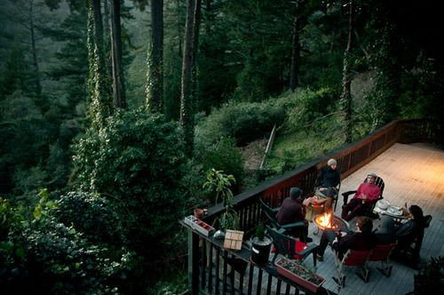 I would not object to a backyard like that!!  Sheer and utter BLISS.