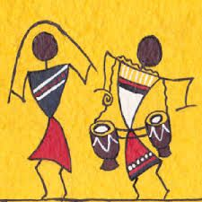 simple warli art - Google Search