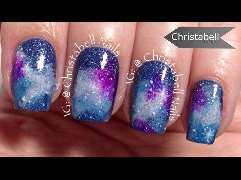 nail art - effetto cosmo