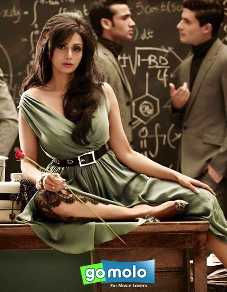 Sridevi's hot photoshoot for Vogue magazine. And how old is she? :)