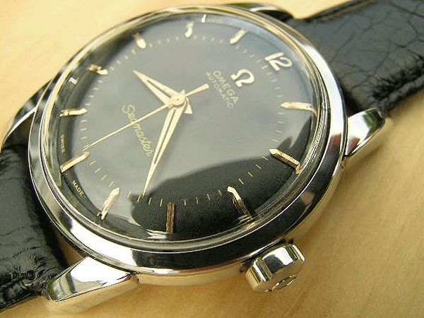 Vintage Omega Seamaster Black Dial Automatic For Sale UK | Vintage Watches