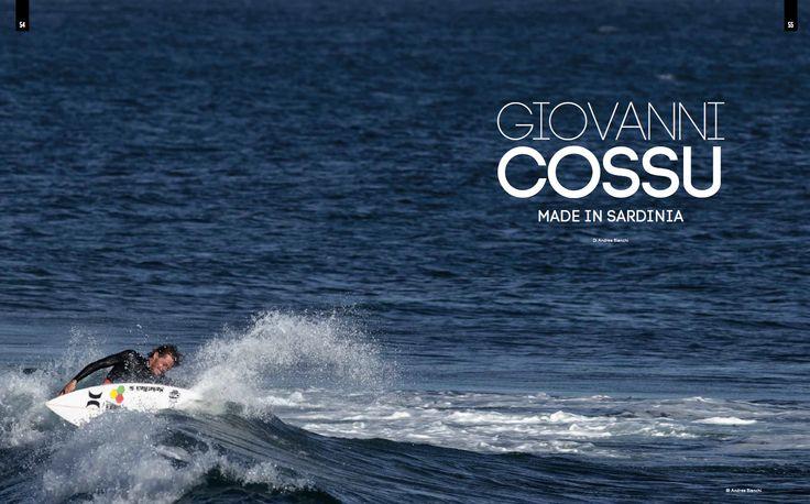 4SURF magazine - n°63 - Giovanni Cossu, Made In Sardinia - Testo Andrea Bianchi. Foto Andrea Bianchi e contributors - pag. 54-55