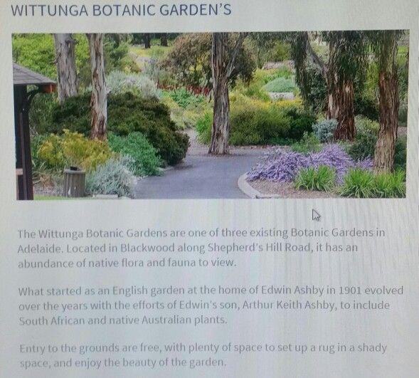 Wittunga Botanic Gardens