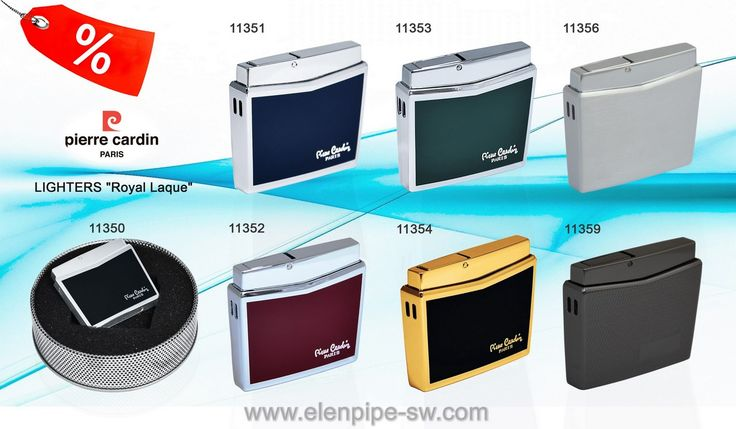 -50 % Grate discounts!!! BIG OVERSTOCK—Pierre Cardin LIGHTERS! ... Over 200% gross profit. Sells for 35 EU— your cost only 16 EU. Half price SPECIAL CONFIDENTIAL DISCOUNTS TO AGENTS FREE ... Online Shopping with www.elenpipe-sw.com wholesale and retail. - 20% of an additional discount for start for NEW CUSTOMERS wholesalers and retailers.