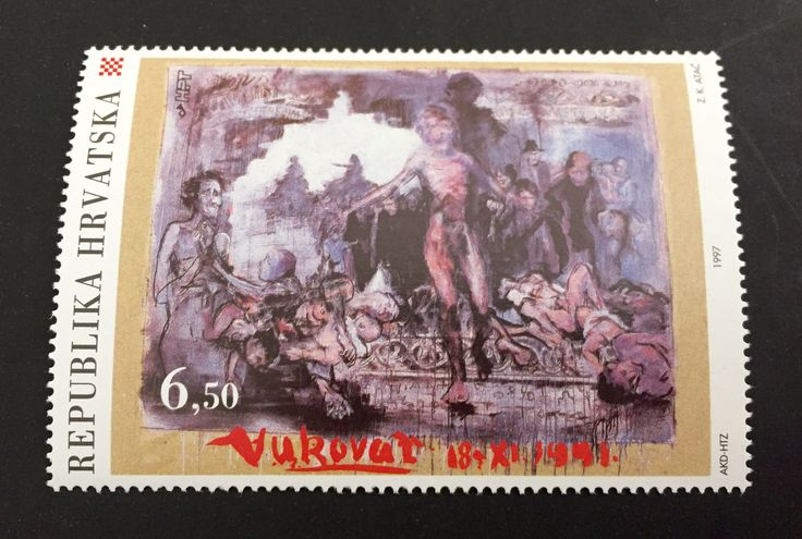 #333 Turkey - Siege of Vukovar, Serbo-Croatian War, 1991 (MNH)