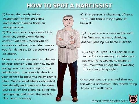 Life after dating a narcissist