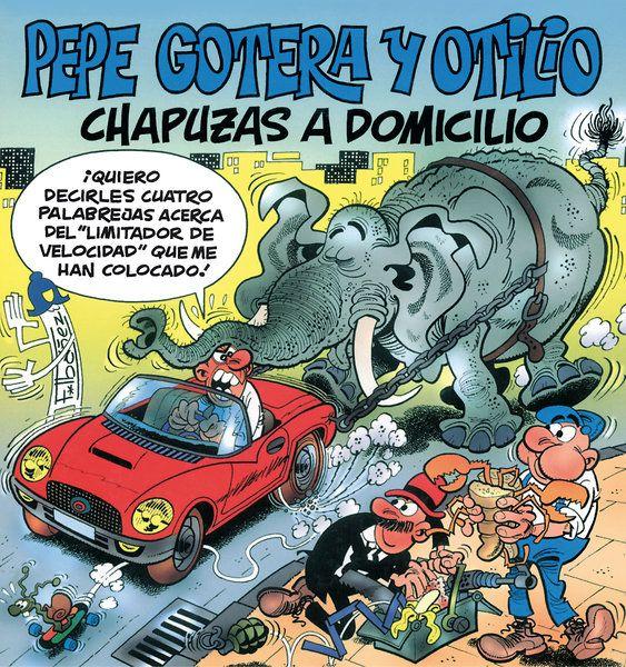 """Otros personajes de tebeos son: """"Pepe Gotera y Otilio, chapuzas a domicilio"""", en la cuestión de arreglar cosas son unos todoterreno. También del genio Francisco Ibañez."""