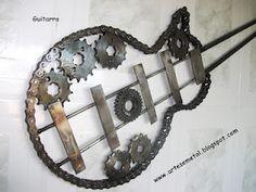 Esculturas de Sucata de Ferro por Raimundo Luz