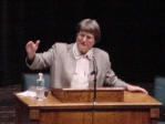 Sister Helen Prejean gave an amazing talk and was wonderful to spend time with.