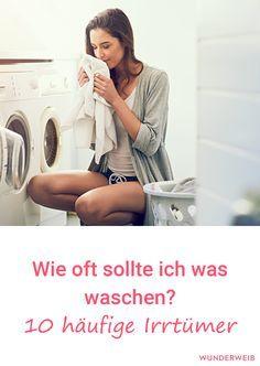 Weißt du, wie oft du was waschen solltest? Wir haben 10 Irrtümer entlarvt.