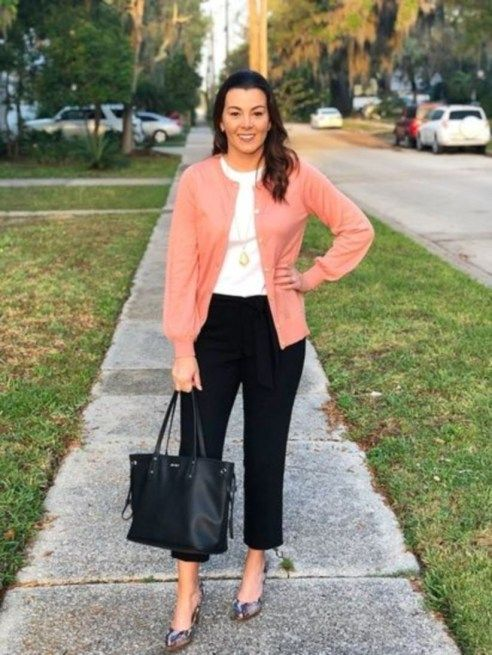 Classy Casual Work Outfits For Women Career Over 30 21