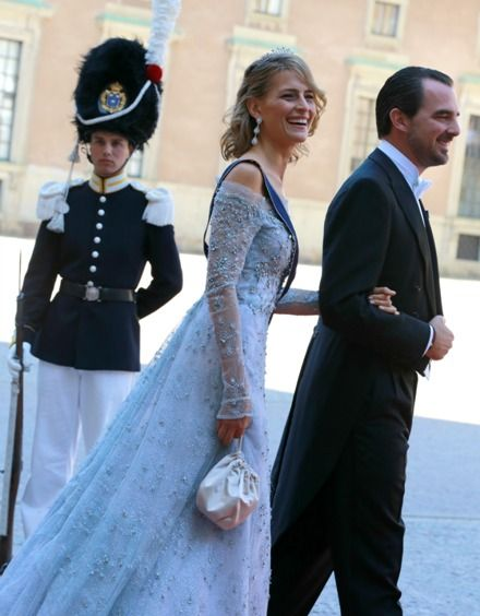 The Prince Nicolas and Princess Tatiana of Greece attended the weddings of three children of the King and Queen of Sweden in recent years. The Swedish royal family was in fact also present at their wedding on the Greek island of Spetses.