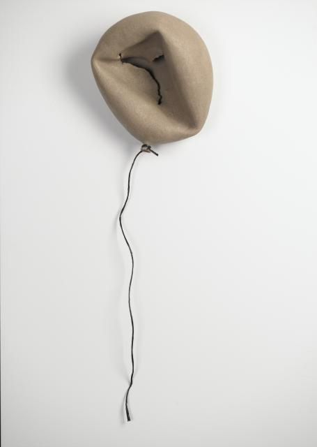 Sivan Sternbach; Ceramic, 2013, Sculpture  Ceramic Balloon""