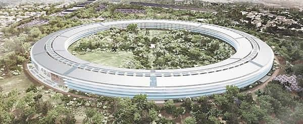 Foto como será nova sede da Apple http://glo.bo/13vfN0f
