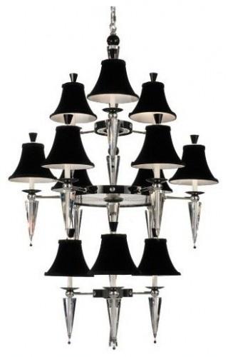 Schonbek 7152 diva 12 light up lighting 3 tier chandelier