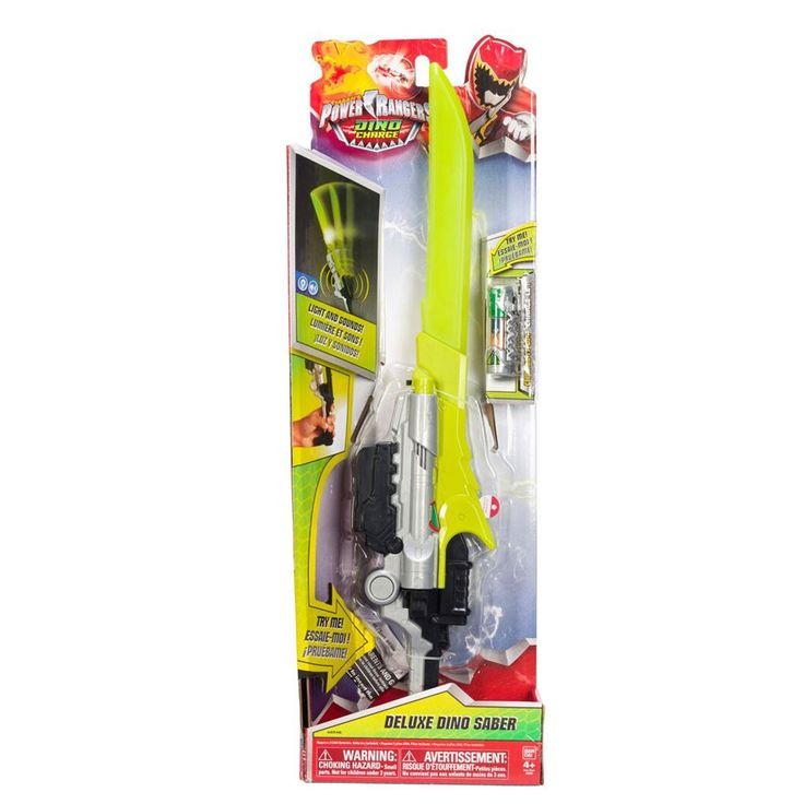 Power Rangers Dino Charge Deluxe Dino Sabre image-3