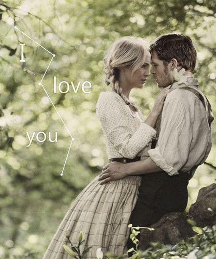 """""""I love you."""" Klaroline. The Vampire Diaries. ♥"""