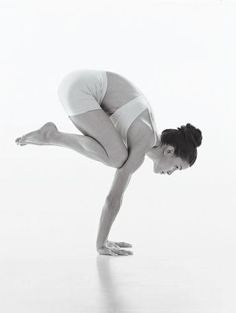 Crow, yoga