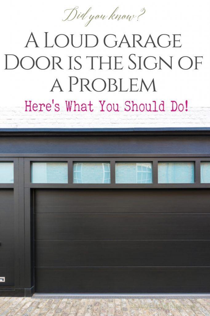 Garage Door Maintenance Tips Snazzy Little Things Garage Doors Garage Door Maintenance Garage