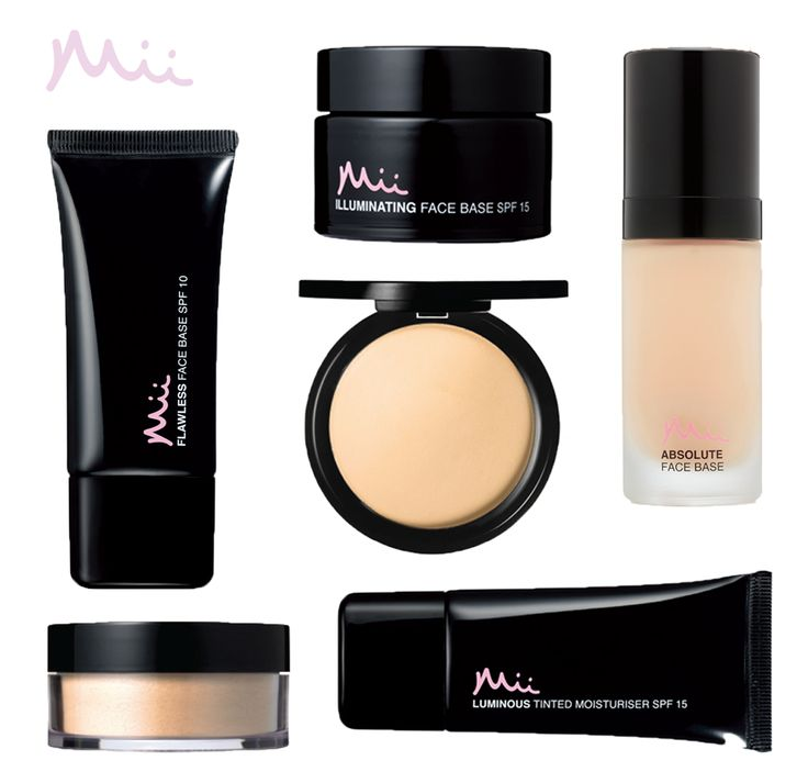 Did you know that 1 in 5 women are still looking for their perfect foundation? Mii offers something for everyone…