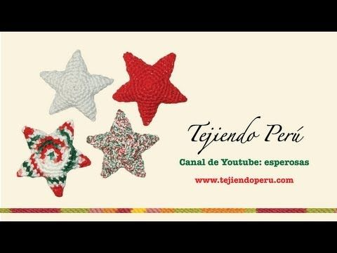 Tutorial amigurumi - Estrella / Star - YouTube