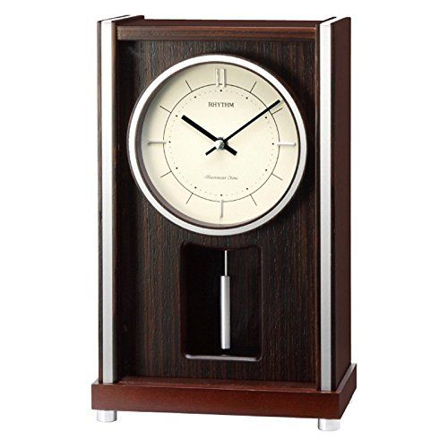 Richmond WSM Musical  Chiming Mantel Clock by Rhythm Clocks >>> Visit the image link more details.