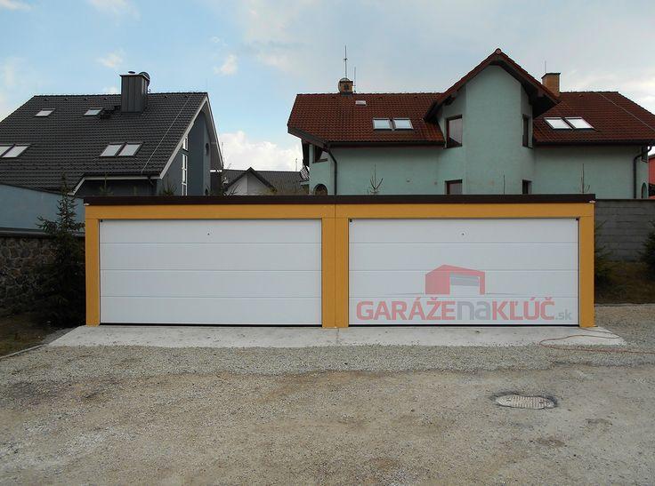 Modern garage.