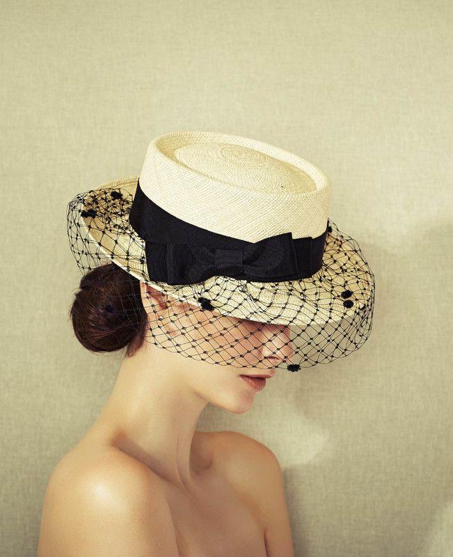 Misa Harada | Penelope | Natural and Boater Hats | LOVEHATS.COM
