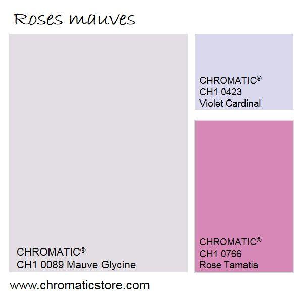 En décoration, les roses tendent aujourd'hui vers des nuances plus froides, presque mauves, ou des roses vraiment intenses.  www.chromaticstore.com