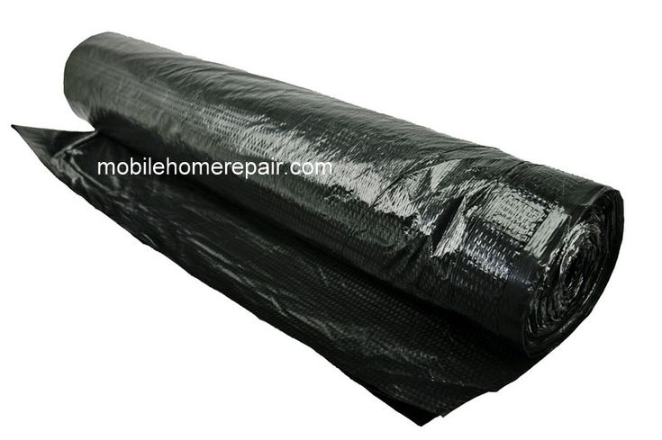 This is what you need to fix worn out or torn underbelly of your mobile home