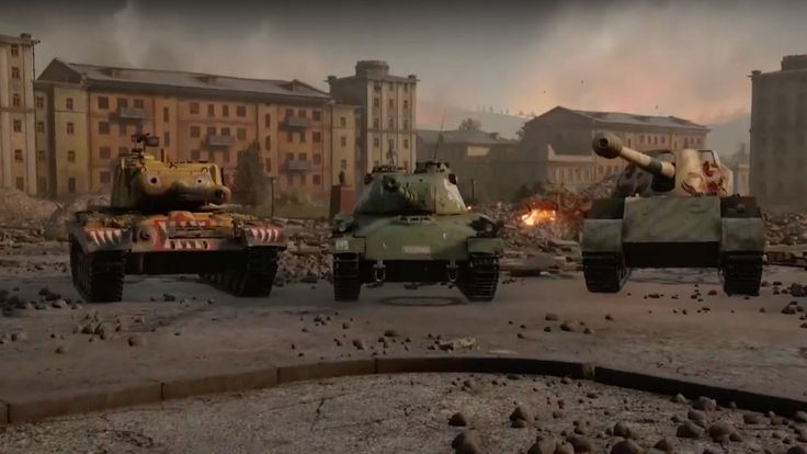 World of Tanks Official Beasts of War Unleashed Trailer The Rheinmetall Skorpion G M46 Patton KR and Panzer 58 Mutz are rolling out for a limited time. August 07 2017 at 02:53PM  https://www.youtube.com/user/ScottDogGaming