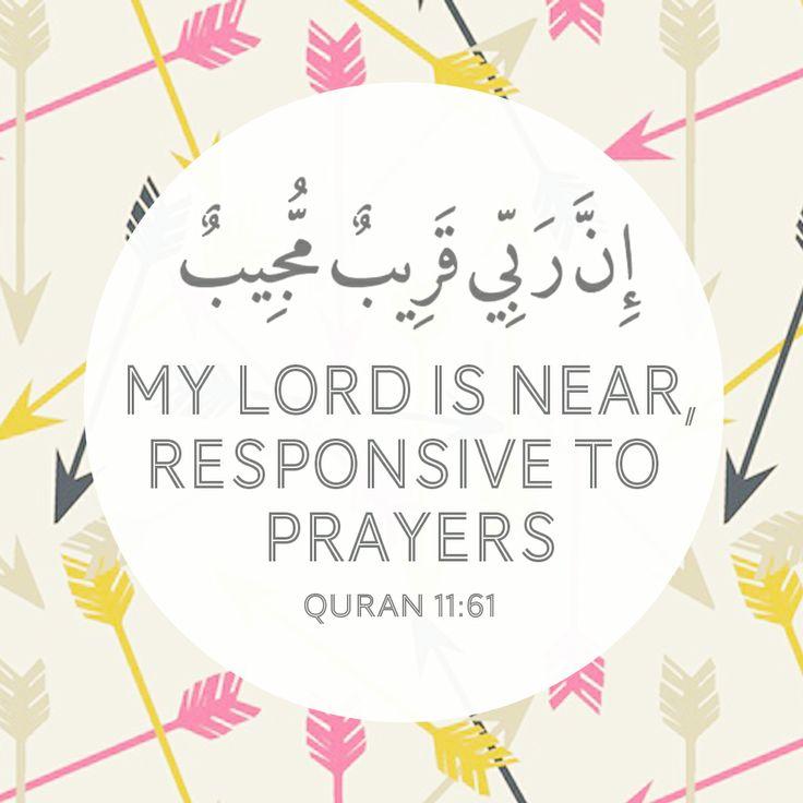 Allah is near :-)