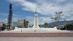 """Artifacts: monument to divino salvador.Description and analysis:In the early sixteenth century, the Spanish conquistadors ventured They called the land """"Provincia De Nuestro Señor Jesucristo El Salvador Del Mundo"""" (""""Province of Our Lord Jesus Christ, the Savior of the World""""), which was subsequently abbreviated to """"El Salvador"""". Our patron saint is El Salvador DelMundo.Documentation:https://en.wikipedia.org/wiki/Monumento_al_Divino_Salvador_del_Mundo"""