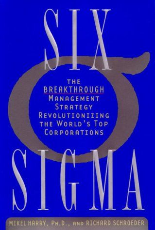 One of the first books on Six SIgma